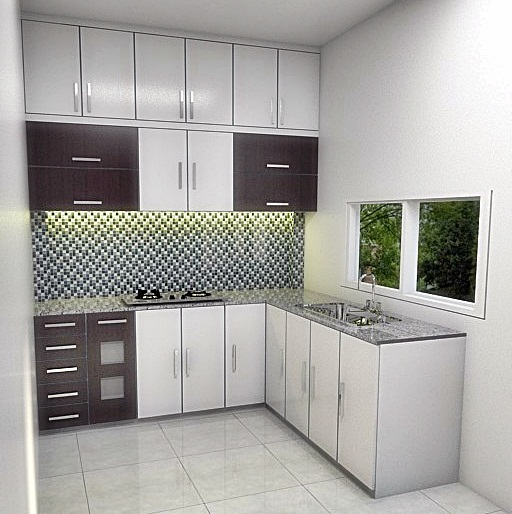 Kitchen Set Minimalis: Harga Kitchen Set Dari Bahan Aluminium